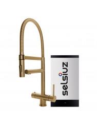 Kokendwaterkraan Selsiuz XL Gold Inclusief Single Boiler