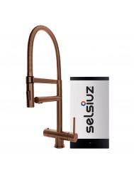 Kokendwaterkraan Selsiuz XL Copper Inclusief Combi Extra Boiler