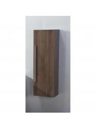 Kolomkast Half Hoog Sanilux 120x40x25 cm Grey Oak