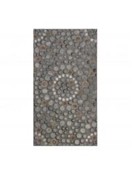 Vloertegel Cristacer Leiden Gris Decorado 33x60cm (Doosinhoud 0.59m²)