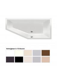 Ligbad Beterbad Xenz Society Compact Rechts 170x75x44 cm (Verkrijgbaar in 10 kleuren)