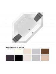Ligbad Xenz Society 145 6-hoekig 145x145x50 cm Inbouw Acryl (Verkrijgbaar in 10 kleuren)