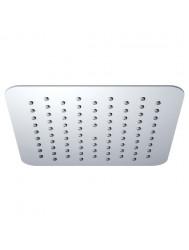 Luxe hoofddouche vierkant 200mm Ultra plat chroom (Regendouche onderdelen)