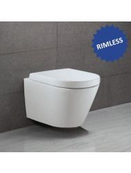 Hangtoilet Boss & Wessing Luxury Fortuna 3M Rimless (incl. zitting)