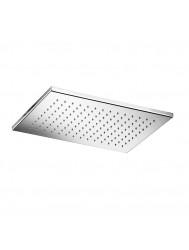 Hotbath Mate hoofddouche vierkant RVS look 26x39 cm
