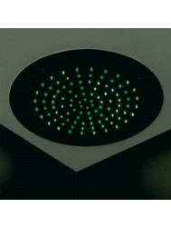 Hotbath Mate inbouw hoofddouche LED chroom 38cm