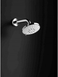 Hoofddouche Hotbath Mate wandmodel ⌀ 13 cm 3 standen RVS Look