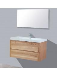 Badkamermeubelset Sanilux Trend Wood 100x47x50 cm Massief Hout