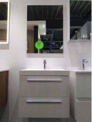 OUTLET badkamermeubel met spiegel 60cm op = op!