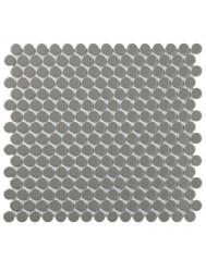 Mozaïektegel The Mosaic Factory Venice 19x5,5 mm Geglazuurd Porselein Donkergrijs