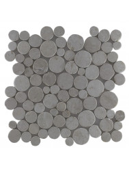 Mozaïek Coin Cream Marmer 30x30 cm (Prijs per 1m²)