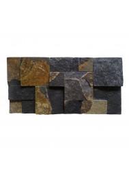 Mozaïek France Style Black Slate 20x40 cm (Prijs per 0,5m²)