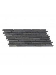 Mozaïek Horizontaal 10 Gray Marmer 30x10 cm (Prijs per 1m²)