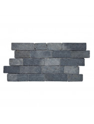 Mozaïek Horizontaal 30 Gray Blue Marmer 30x15 cm (Prijs per 1m²)