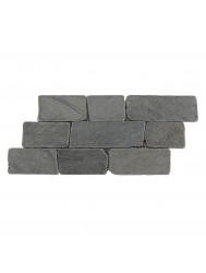Mozaïek Horizontaal 50 Gray Marmer 30x15 cm (Prijs per 1m²)