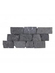 Mozaïek Horizontaal 50 Gray Blue Marmer 30x15 cm (Prijs per 1m²)