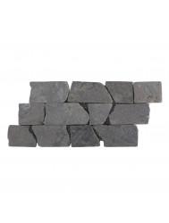 Mozaïek Horizontaal 50 Light Gray Marmer 30x15 cm (Prijs per 1m²)