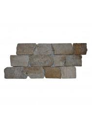 Mozaïek Horizontaal 50 Sunset Brown Marmer 30x15 cm (Prijs per 1m²)