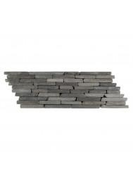 Mozaïek Horizontaal B Gray Marmer 34x10 cm (Prijs per 0,55m²)