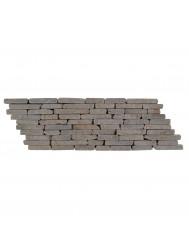 Mozaïek Horizontaal B Sunset Brown Marmer 34x10 cm (Prijs per 0,55m²)