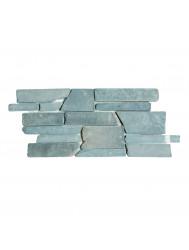 Mozaiek Horizontaal Random Gray Marmer 30x14 cm (Prijs per 0,92m²)