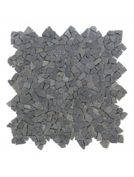 Mozaiek Micro Connecting Gray Marmer 30x30 cm (Prijs per 1m²)