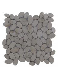 Mozaïek Oval Cream Marmer 30x30 cm (Prijs per 1m²)