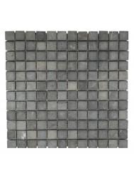 Mozaïek Parquet 2,4x2,4 Gray Tumble Marmer 30x30 cm (Prijs per 1m²)