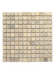 Mozaïek Parquet 2,4x2,4 Sunset Brown Marmer 30x30 cm (Prijs per 1m²)