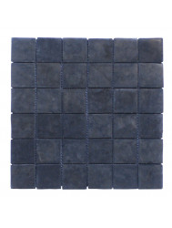 Mozaïek Parquet 5x5 Gray Blue Tumble Marmer 30x30 cm (Prijs per 1m²)