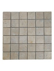 Mozaïek Parquet 5x5 Sunset Brown Tumble Marmer 30x30 cm (Prijs per 1m²)