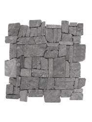 Mozaïek Random Light Gray Marmer 30x30 cm (Prijs per 1m²)