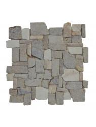 Mozaïek Random Mix Onyx/Sunset Brown Marmer 30x30 cm (Prijs per 1m²)