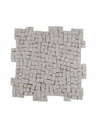 Mozaïek Random Small Cream Marmer 30x30 cm (Prijs per 1m²)