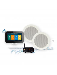Music Center Aquasound N-Joy Controller (IPX7) + Wand Lader + Twist Speakerset + Mini-Box / 50 Watt