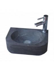 Natuursteen fontein Flow 35x24x10cm (kraangat rechts) (Fonteinen)