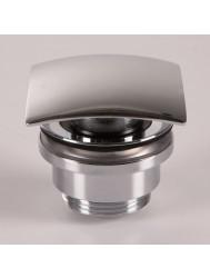Afvoerclick plug Hotbath Pal met schroef vierkant Chroom