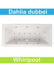 Whirlpool Boss & Wessing Dahlia 170x75 cm Dubbel systeem