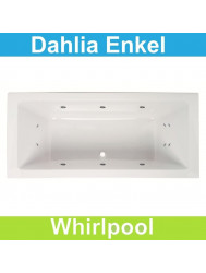 Whirlpool Boss & Wessing Dahlia 190x90 cm Enkel systeem