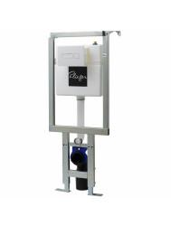 Plieger Flair Corner hoek WC-element m. inbouwreservoir dualflush