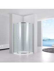 Douchecabine Sanilux Comfort Kwartrond 100x100cm 6mm