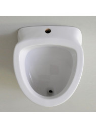 Sanicare Saniwell Urinoir Met Sifon (Boveninlaat / Achterafvoer) Wit