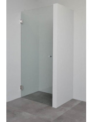 Nisdeur Sanilux Comfort Touch zonder profiel 200x100cm 6mm | Tegeldepot.nl