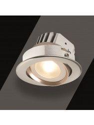 Kantelbare Spotlamp Schumann Tarragona RVS set (keuze uit 1 t/m 10 stuks)