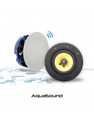 Speakerset Aquasound Move Bluetooth 4.0 Wit (21cm) 70 Watt (230V/12V)