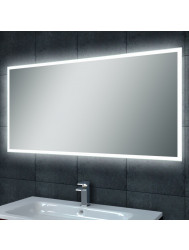 Spiegel Wiesbaden Quatro dimbare LED condensvrij 120x60cm