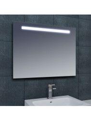 Spiegel Wiesbaden Tigris met LED verlichting en schakelaar 140x80x3cm