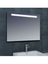Spiegel Wiesbaden Tigris met LED verlichting en schakelaar 80x80x3cm