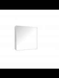 Spiegelkast Sanicare Qlassics 60 cm 1 Deur Zijdeglans Wit