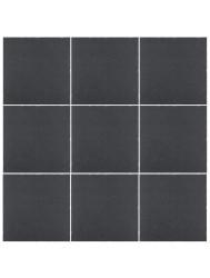 Vloertegel Cristacer Tessel Negro 15x15cm (Doosinhoud 1,00M²) | Tegeldepot.nl
